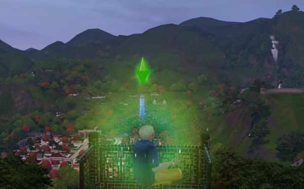 The Sims 3 World Adventures Martial Arts Guide - Learn Sim Fu. This shot shows my Sim meditating atop the Temple of Heaven