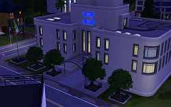 The Hospital in the Sims 3's Sunset Valley
