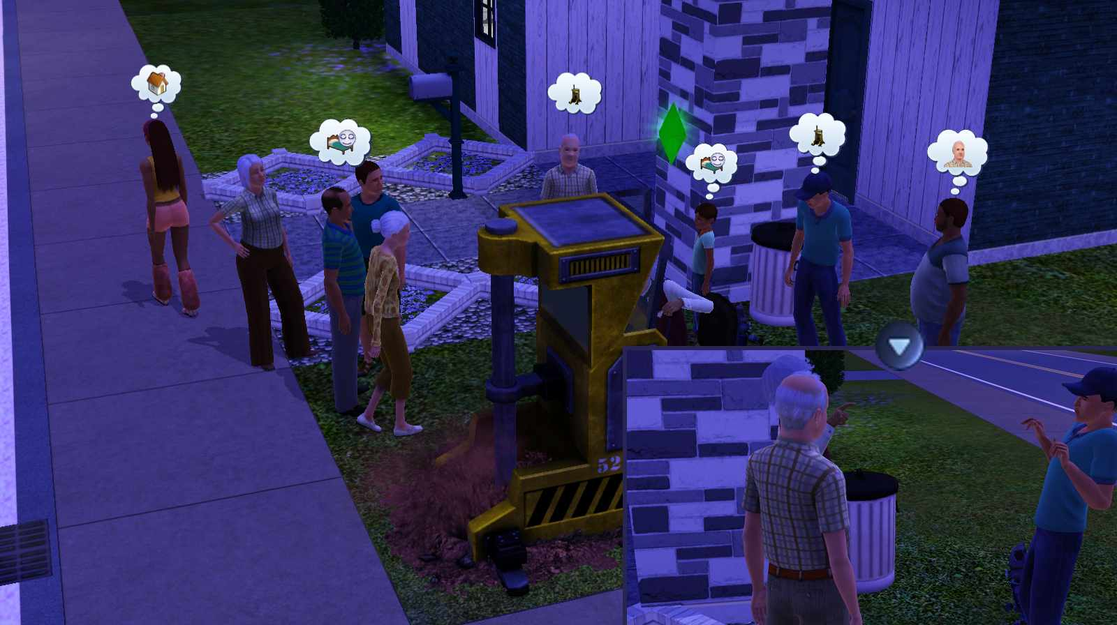 Sims 3 Ambitions - Monster Maker Lifetime Wish