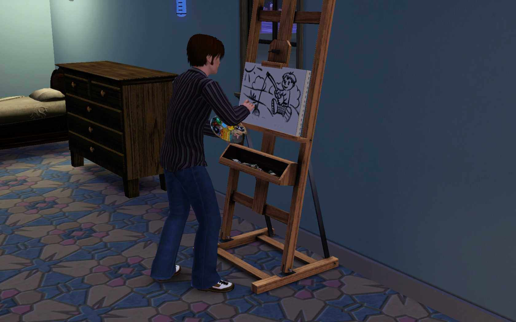 The Sims 3 Painting Skill Guide