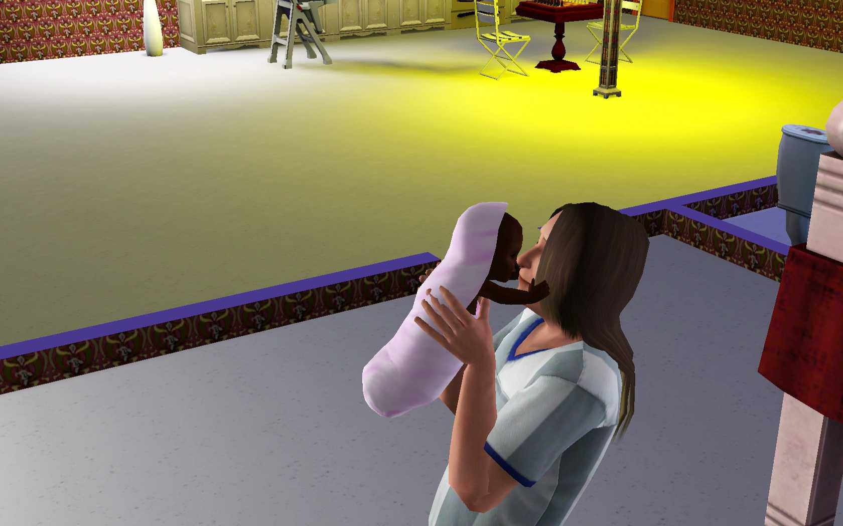 Sims 3 Parenting: Kiss The Baby How