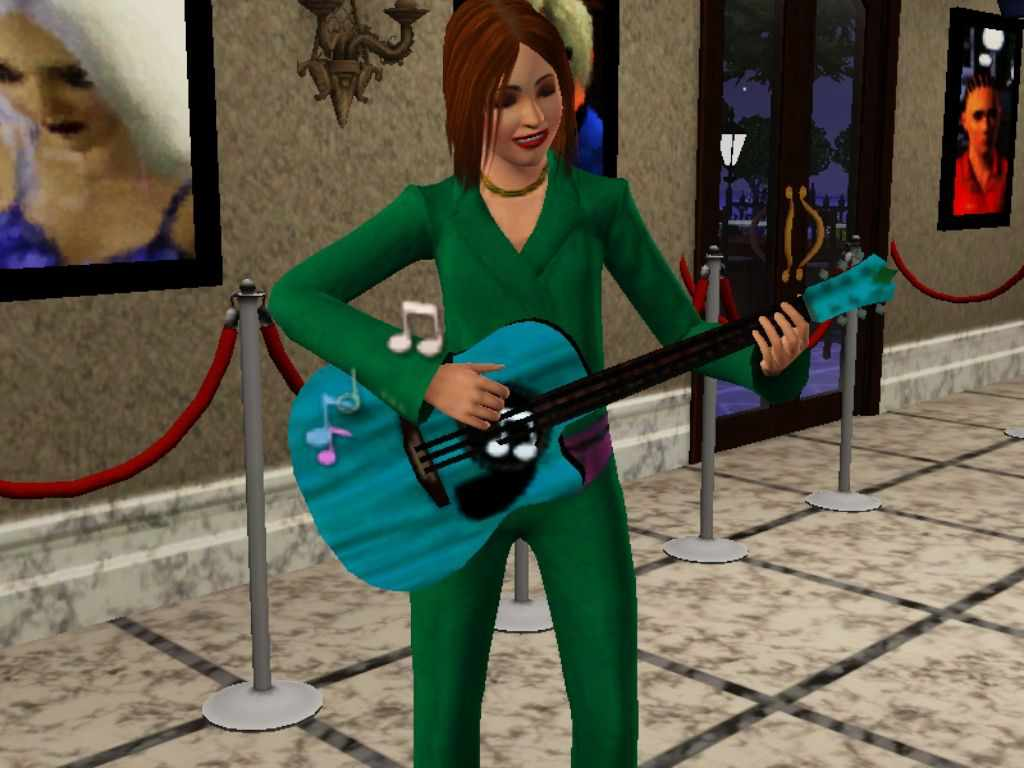the sims 3 teenagers high school r ce part time jobs a teen playing guitar in the sims 3