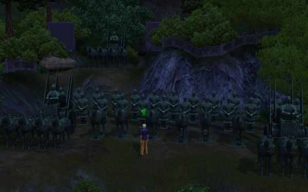 The Sims 3 World Adventures Photography: The Terracotta Army in Shang Simla, China
