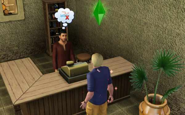 The Sims 3 World Adventures Photography: The general goods vendor in Al Simhara, Egypt where you can buy the best cameras in the game.