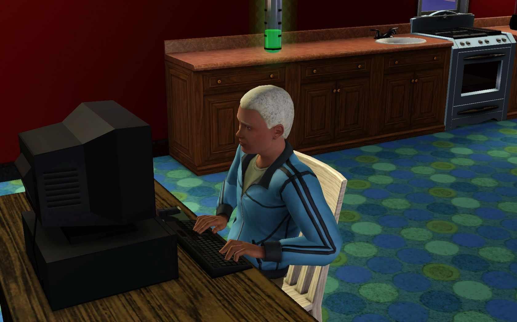 sims 3 workaholic writer