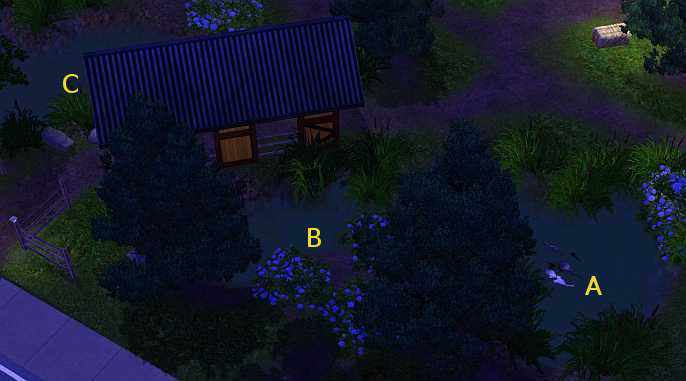 The Sims 3's Lost Willow Park