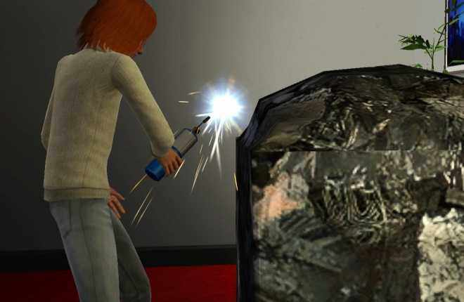 Sims 3 Ambitions Sculpting - Metal