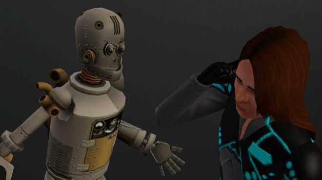 Simbots have feelings, too.