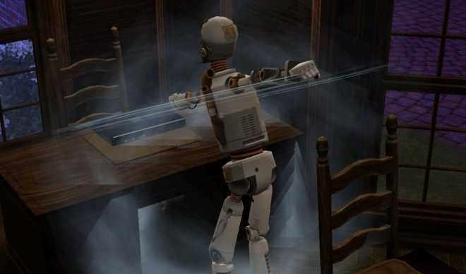 Simbot Smashes it up