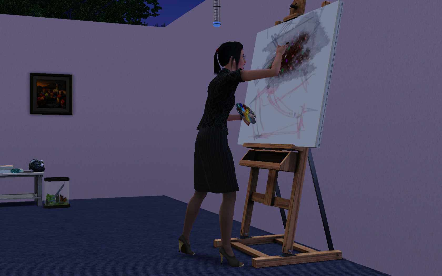 The Sims 3 Skills List Information And Tips 89 Club Car Golf Cart Wiring Diagram Painting In