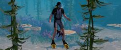 Scuba Diving in The Sims 3