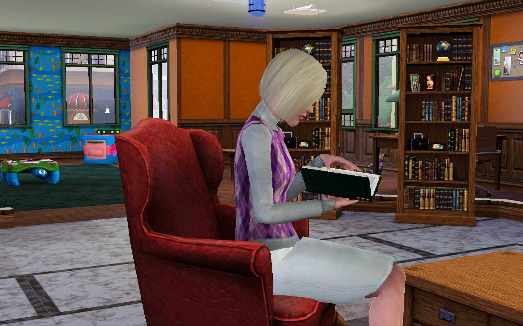 The Sims 3 Master Chef Culinary Librarian Lifetime Wish