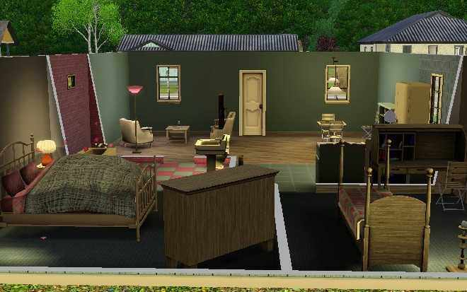 Moving in the Sims 3