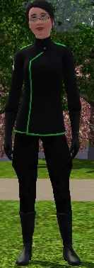 The Sims 3 Criminal Career Track Uniform for Emperor of Evil