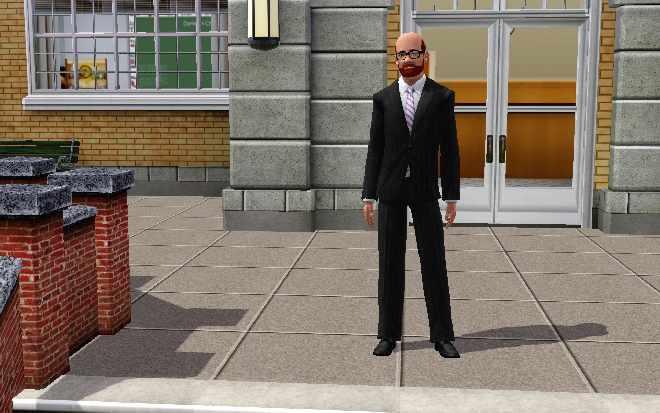 Sims 3 Education - High School Teacher Uniform