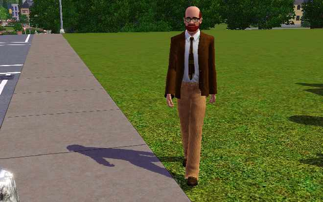 Sims 3 Education - Superintendent Uniform