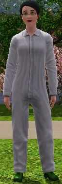 The Sims 3 Law Enforcement Career Track Uniform for Forensics Analyst Dynamic DNA Profiler
