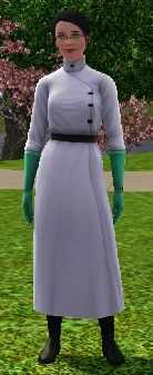 The Sims 3 Medical Career Track Uniform For World Renowned Surgeon