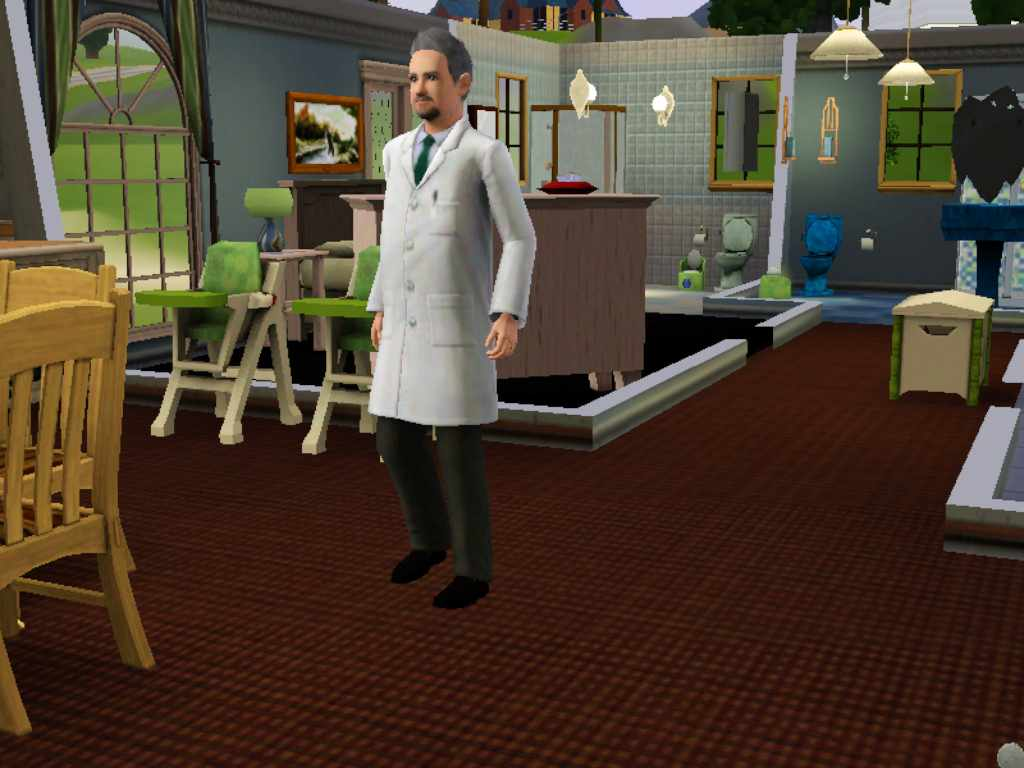 Trauma Surgeon Uniform Sims 3 Infectious Disease Researcher