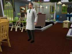 Sims 3 Infectious Disease Researcher Uniform