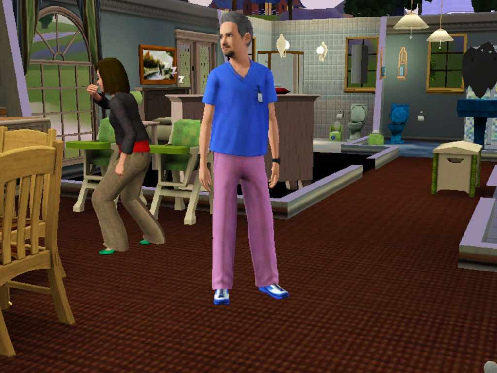 Sims 3 Medical Intern Uniform