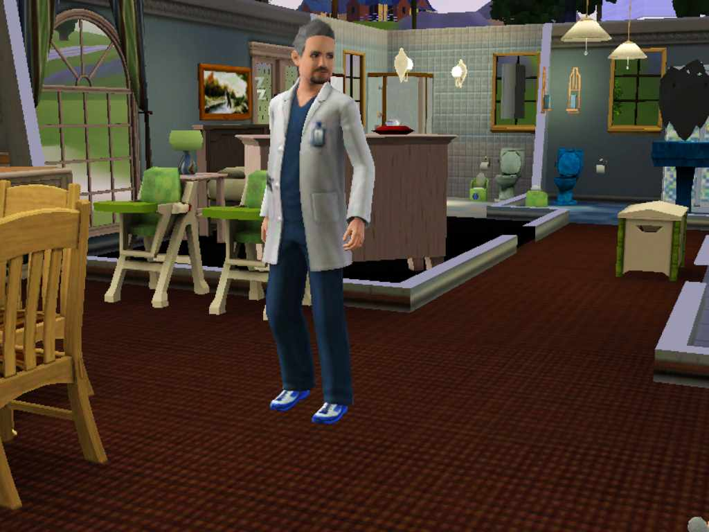 the sims medical career track job list and doctor research medical intern uniform sims 3 resident uniform