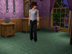 The Sims 3 Music Career Uniform: Backup Vocalist