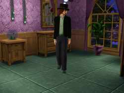 The Sims 3 Music Career Uniform: Music Talent Scout