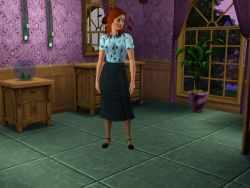 The Sims 3 Music Career Uniform: Quartet Member