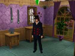 The Sims 3 Music Career Uniform: Rock Star