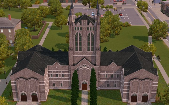 The Sims 3 University Life - Apply for Extra Funds at the Administration Center
