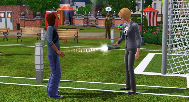Sims 3 University Life - Getting a DNA Sample from a Sim