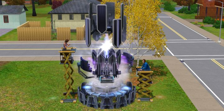 Sims 3 University Life - Science Group Project