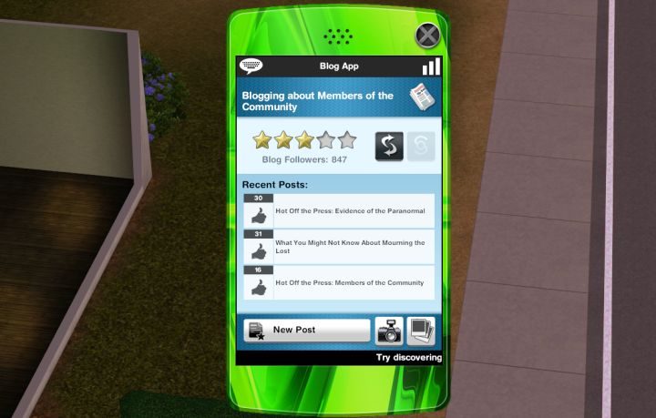 The Sims 3 University Life Social Networking Skill