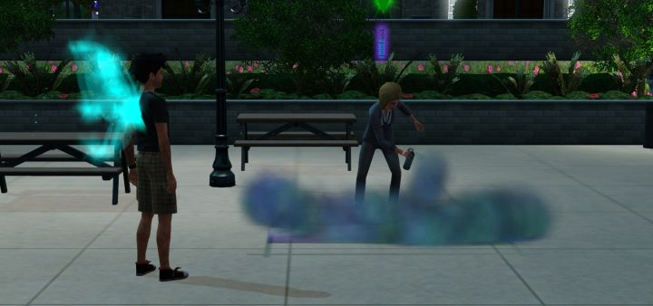 Street Art in The Sims 3 University Life