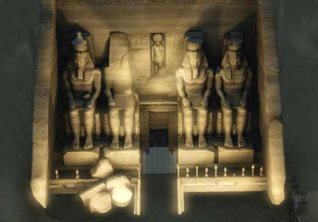 The Glorious Abu Simbel from the Sims 3 World Adventures' Al Simhara, Egypt