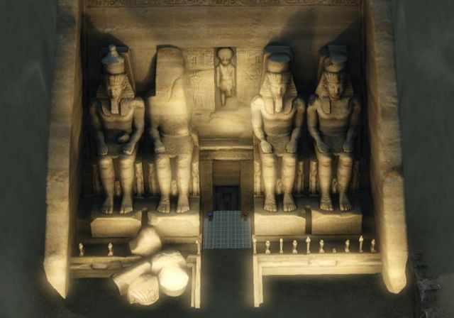 The Glorious Abu Simbel from the Sims 3 World Adventures' Al Simhara, Egypt