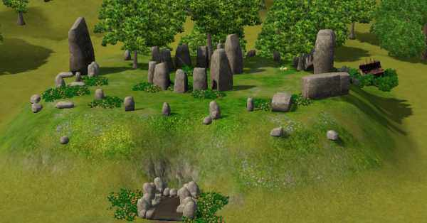 The Sims 3 World Adventures France: Celtic Burial Mound