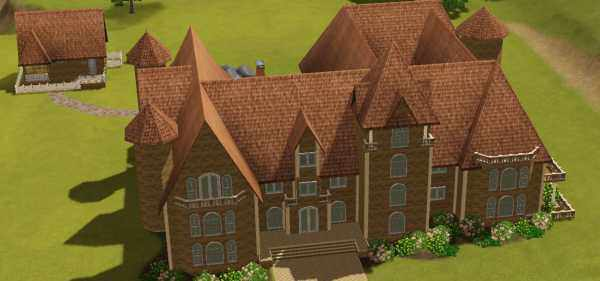 The Sims 3 World Adventures France: Chateau Du Landgraab