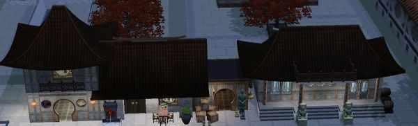 The Sims 3 World Adventures Shang Simla, China: Market