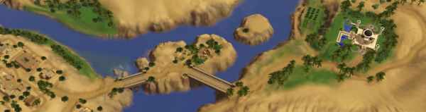 The Copper Quarry in the Sims 3 World Adventures