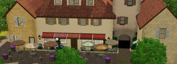 The Sims 3 World Adventures France: French Marketplace
