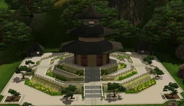 The Sims 3 World Adventures Shang Simla, China: The Temple of Heaven