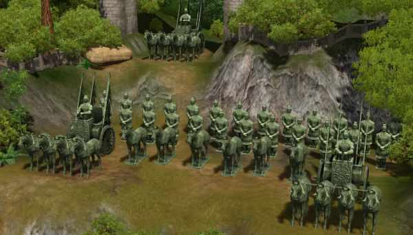 The Sims 3 World Adventures Shang Simla, China: The Terra Cotta Army