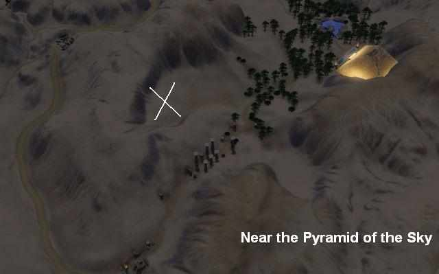 Where to find a tiny space rock in Al Simhara, Egypt in the Sims 3 World Adventures
