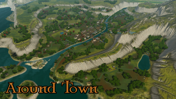 The Sims 3 Dragon Valley World: Places in Town