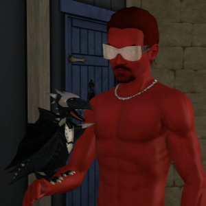 The Sims 3 Dragon Valley World: Baby Black Dragon