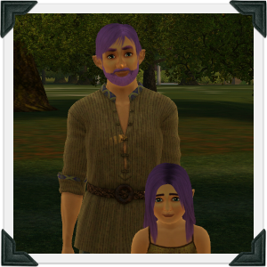 The Sims 3 Dragon Valley World: Cromos Household