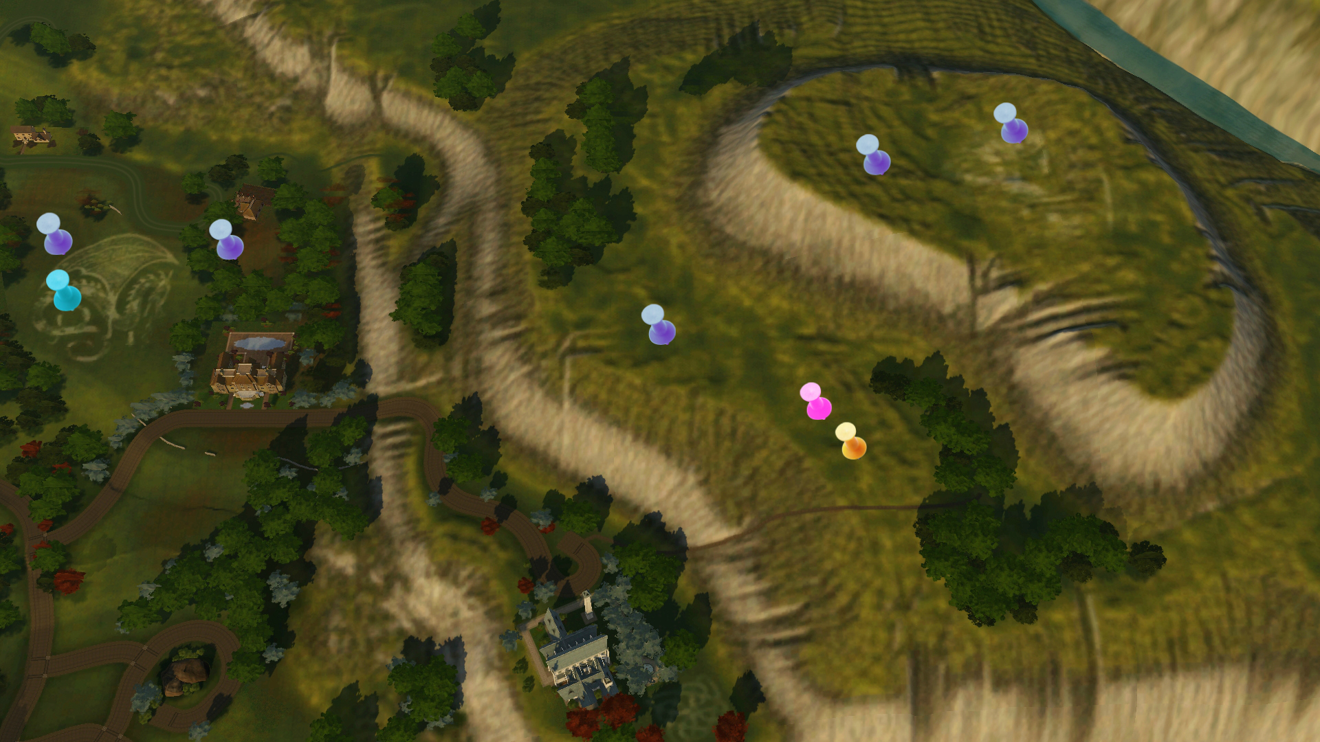 The Sims 3 Dragon Valley World Info Collectibles & Baby Dragons