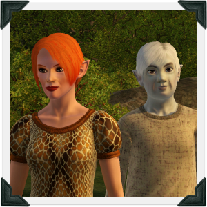The Sims 3 Dragon Valley World: Delaney Household